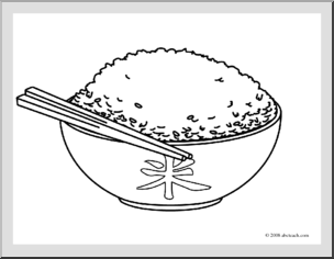 rice coloring page rice dish coloring page coloringcrewcom page coloring rice