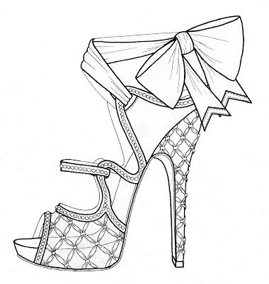 sketches of high heel shoes high heel shoes drawing high heel tattoos shoe art fashion high sketches of shoes heel
