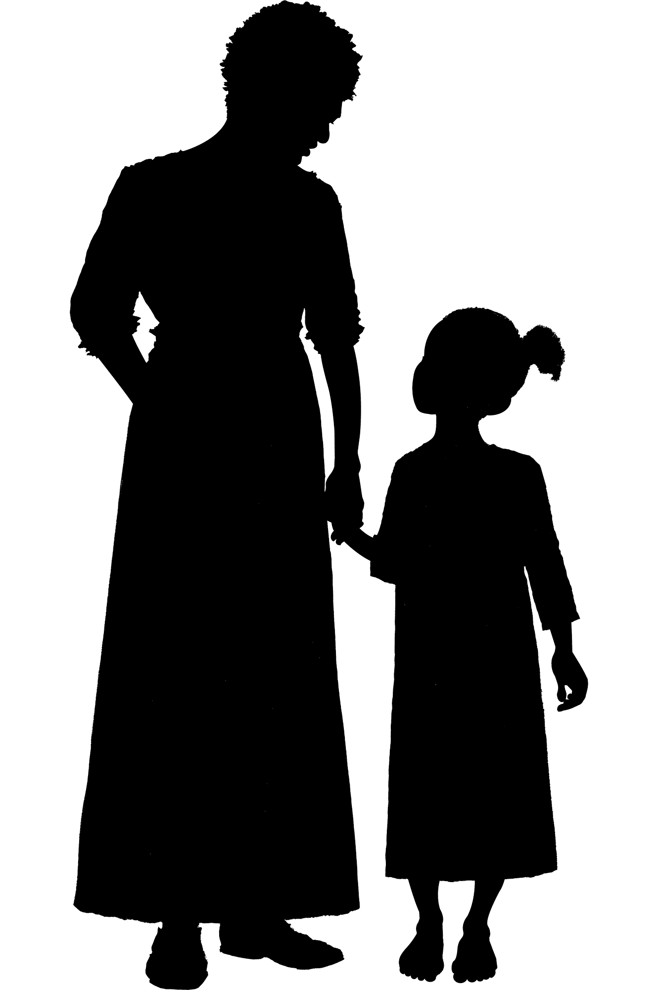 slave silhouette enslaved people at mount vernon george washington39s silhouette slave 1 3