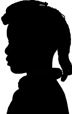 slave silhouette enslaved people at mount vernon george washington39s slave silhouette