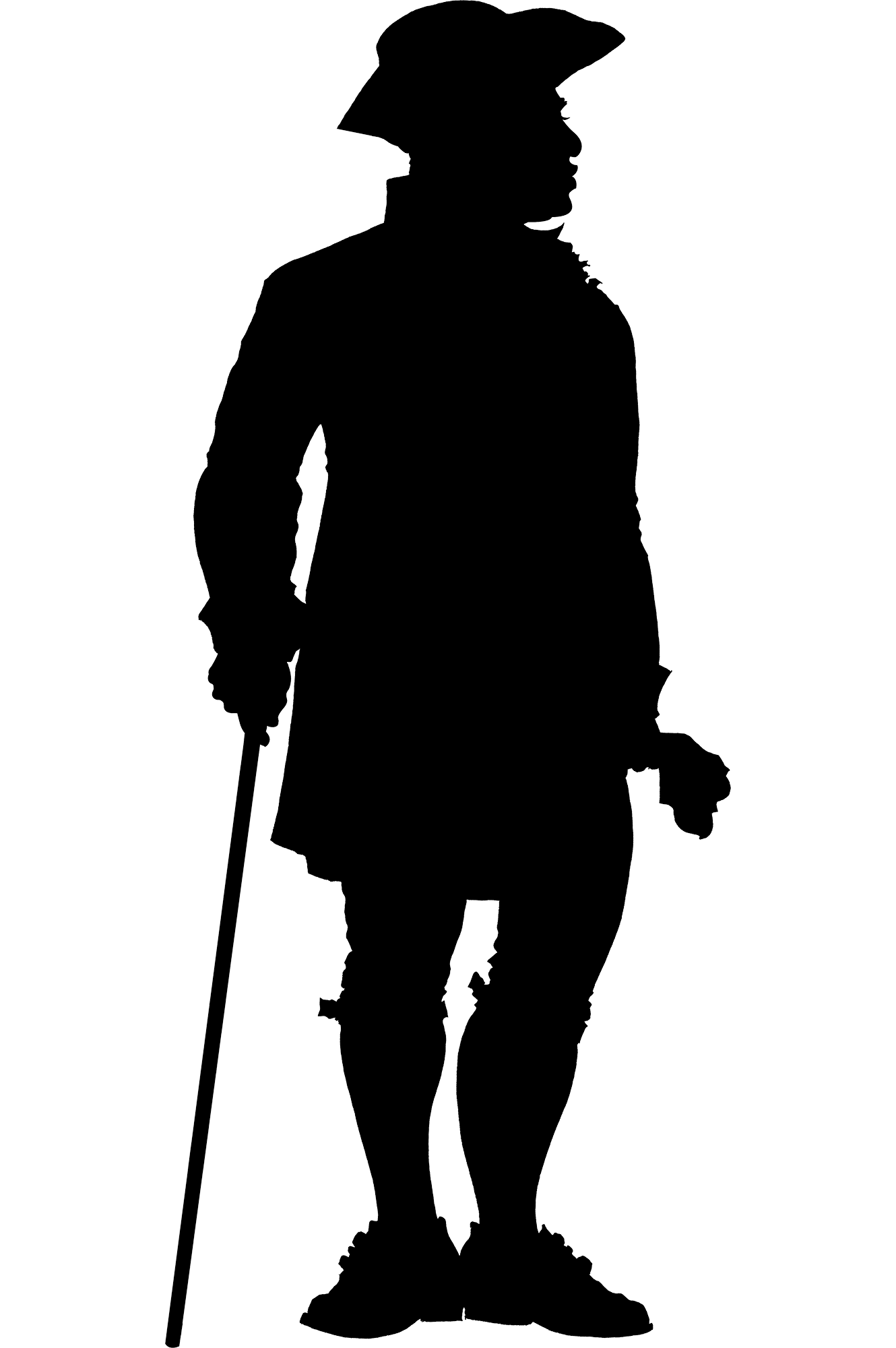 slave silhouette enslaved people at mount vernon george washington39s slave silhouette 1 3