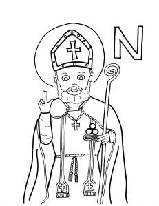 st nicholas coloring page the big christian family december 6 st nicholas st page coloring nicholas