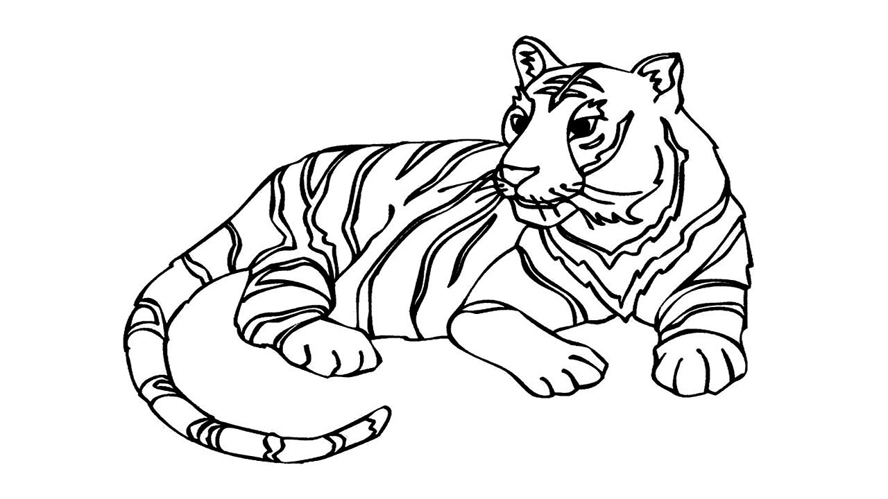tiger coloring pages free printable tiger coloring pages for kids coloring pages tiger 1 2