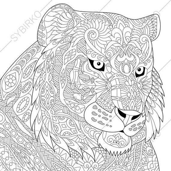 tiger coloring pages tiger coloring page animal coloring book pages for coloring tiger pages