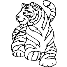 tiger coloring pages top 20 free printable tiger coloring pages online tiger pages coloring