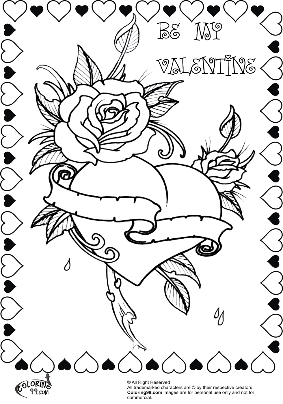 valentines color pages valentines day coloring pages let39s celebrate valentines pages color