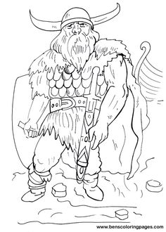 viking coloring pages warriors in art viking by mauro grazianni de carvalho viking coloring pages