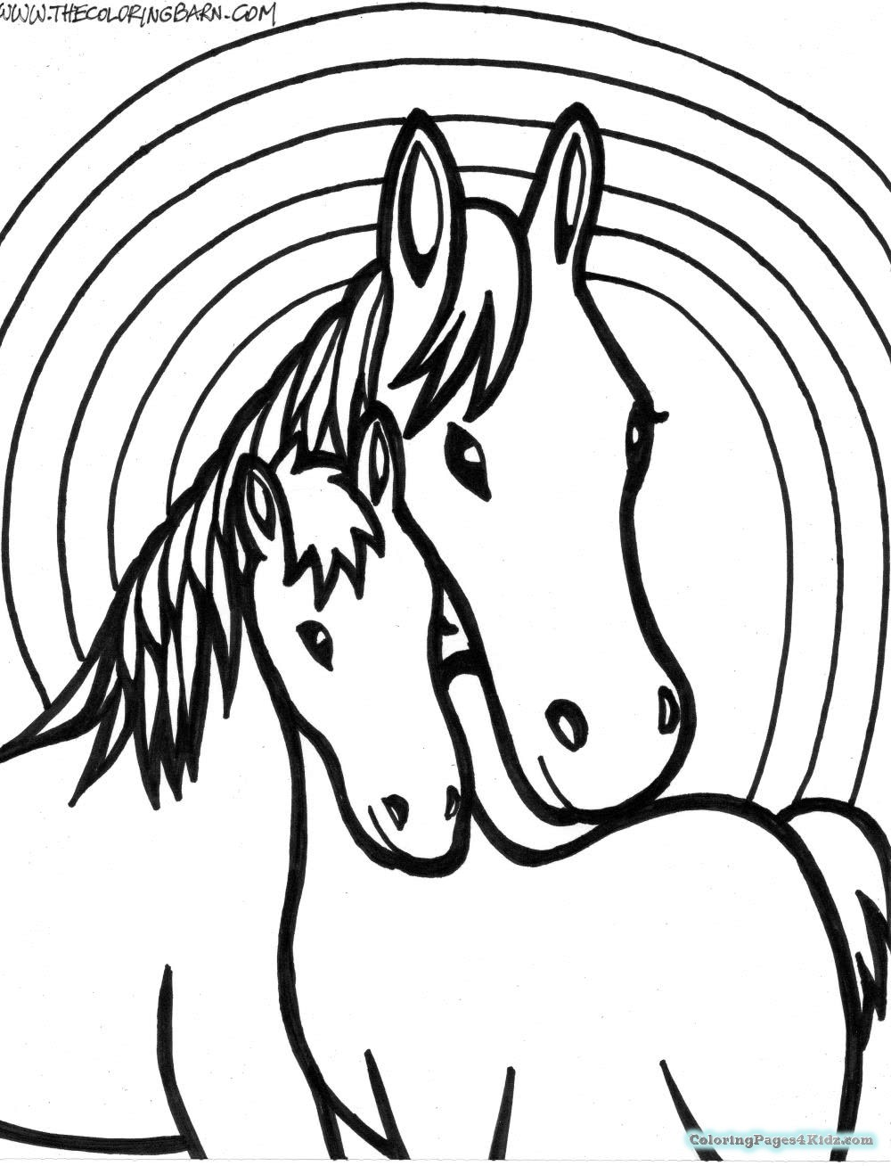 baby horse coloring pages coloring pages of a horse of a newborn baby coloring pages horse coloring baby