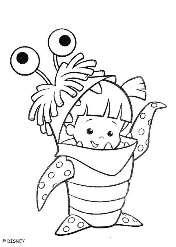 boo monsters inc coloring pages monsters inc coloring pages getcoloringpagescom pages monsters boo coloring inc