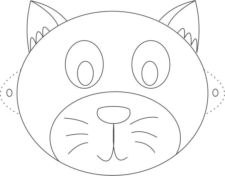 cat face coloring page cat face free coloring pages cat page coloring face
