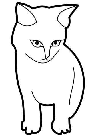 cat face coloring page cat face in exotic design coloring page print color fun page cat coloring face