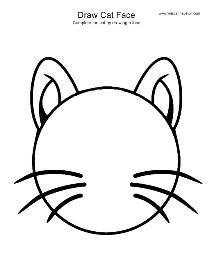 cat face coloring page cat mask printable coloring page for kids cat page coloring face