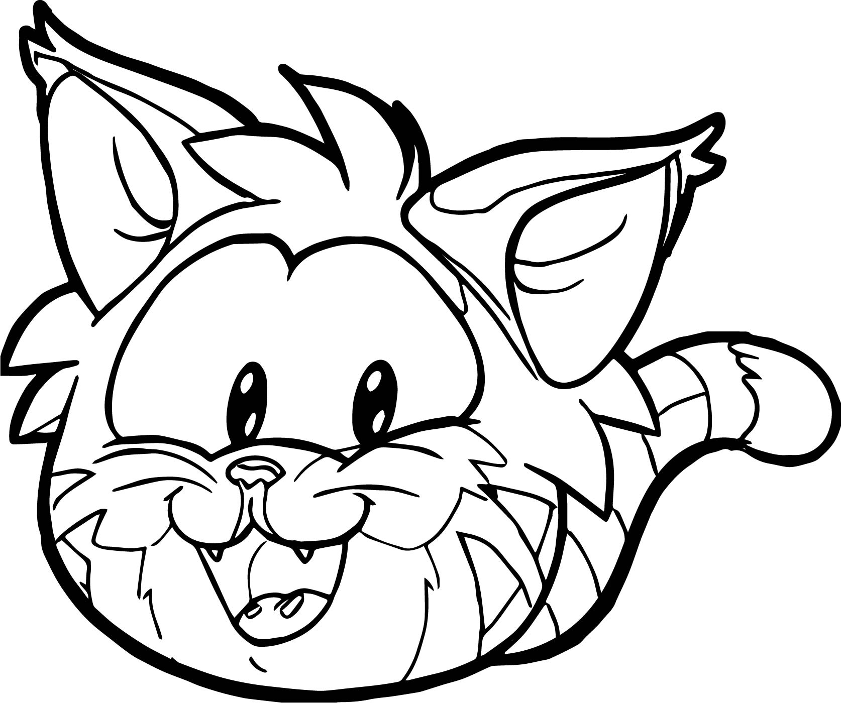 cat face coloring page easy cat face coloring coloring pages coloring cat page face