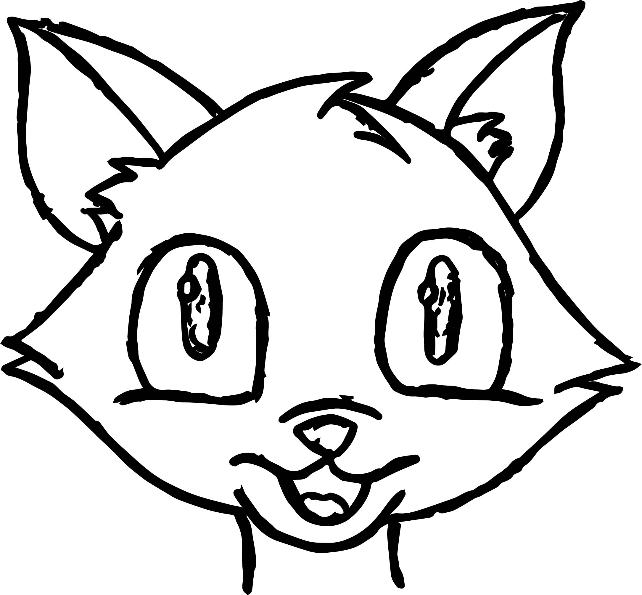 cat face coloring page manga cat face coloring page wecoloringpagecom cat face coloring page