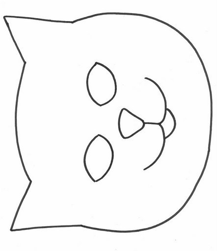 cat face coloring page smiley face outlines free download best smiley face coloring face page cat