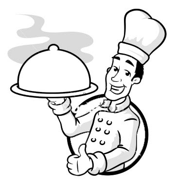 chef coloring page chef hat coloring page at getcoloringscom free chef coloring page