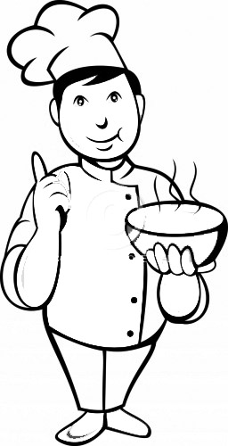 chef coloring page little chefs coloring pages to kids chef coloring page