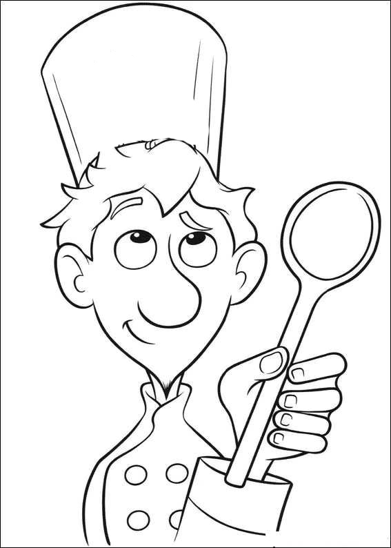 chef coloring page the masterchef colouring pages picolour chef coloring page