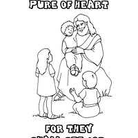 clean heart coloring page beatitudes coloring pages by amanda cole photobucket coloring heart page clean