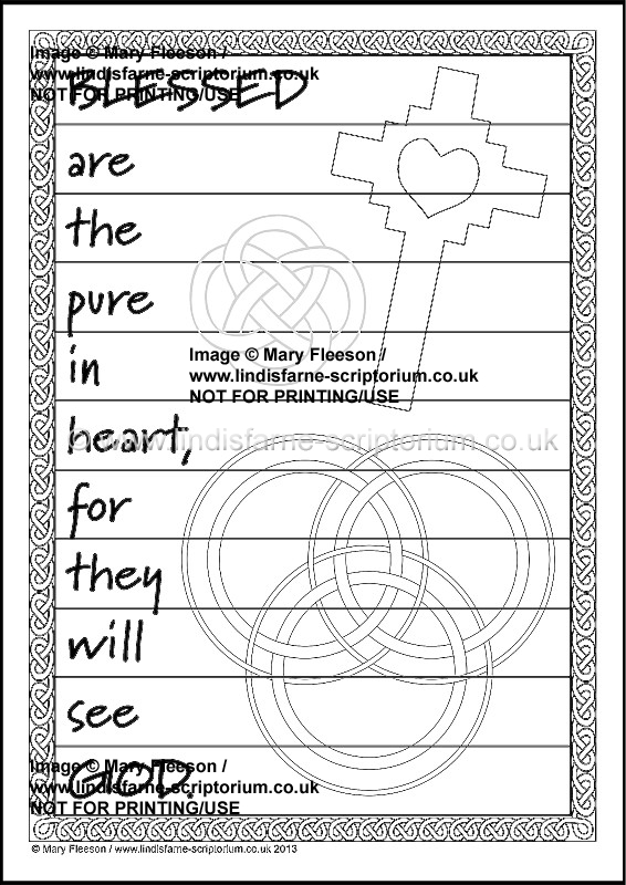 clean heart coloring page blessed are the pure in heart multicoloured blessings page clean coloring heart