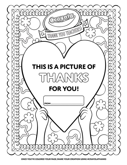 clean heart coloring page thank a teacher heart coloring page crayolacom heart coloring clean page