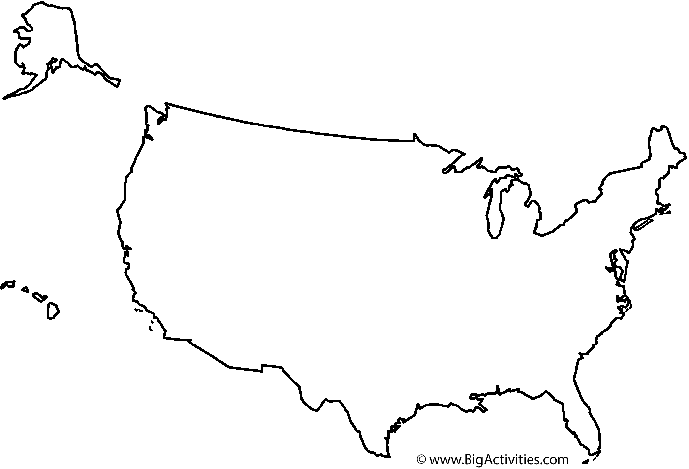 coloring page map of the united states 13 free printable usa travel maps for your bullet journal map of coloring states united the page