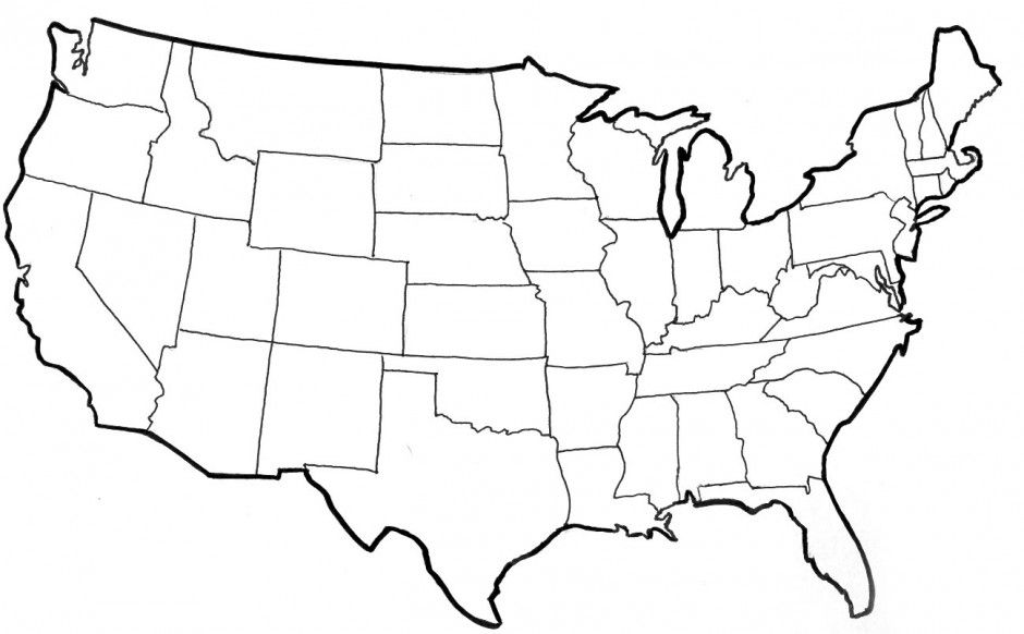 coloring page map of the united states earthy map printables yescoloring free america map coloring states the united page of