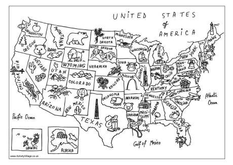 coloring page map of the united states redirecting to httpwwwsheknowscomparentingslideshow the map of states page united coloring