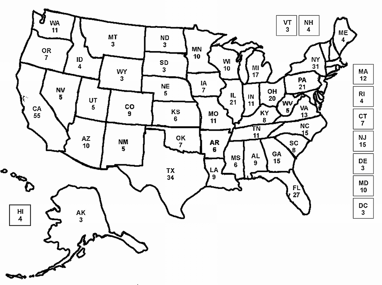 coloring page map of the united states united states coloring pages kidsuki states of map the page united coloring