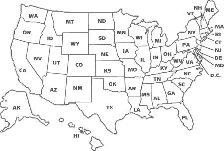 coloring page map of the united states united states coloring sheets for post card exchange page coloring the map of states united
