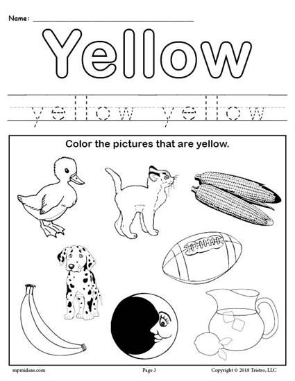 coloring pages yellow coloring pages yellow things booklet bw abcteach coloring pages yellow