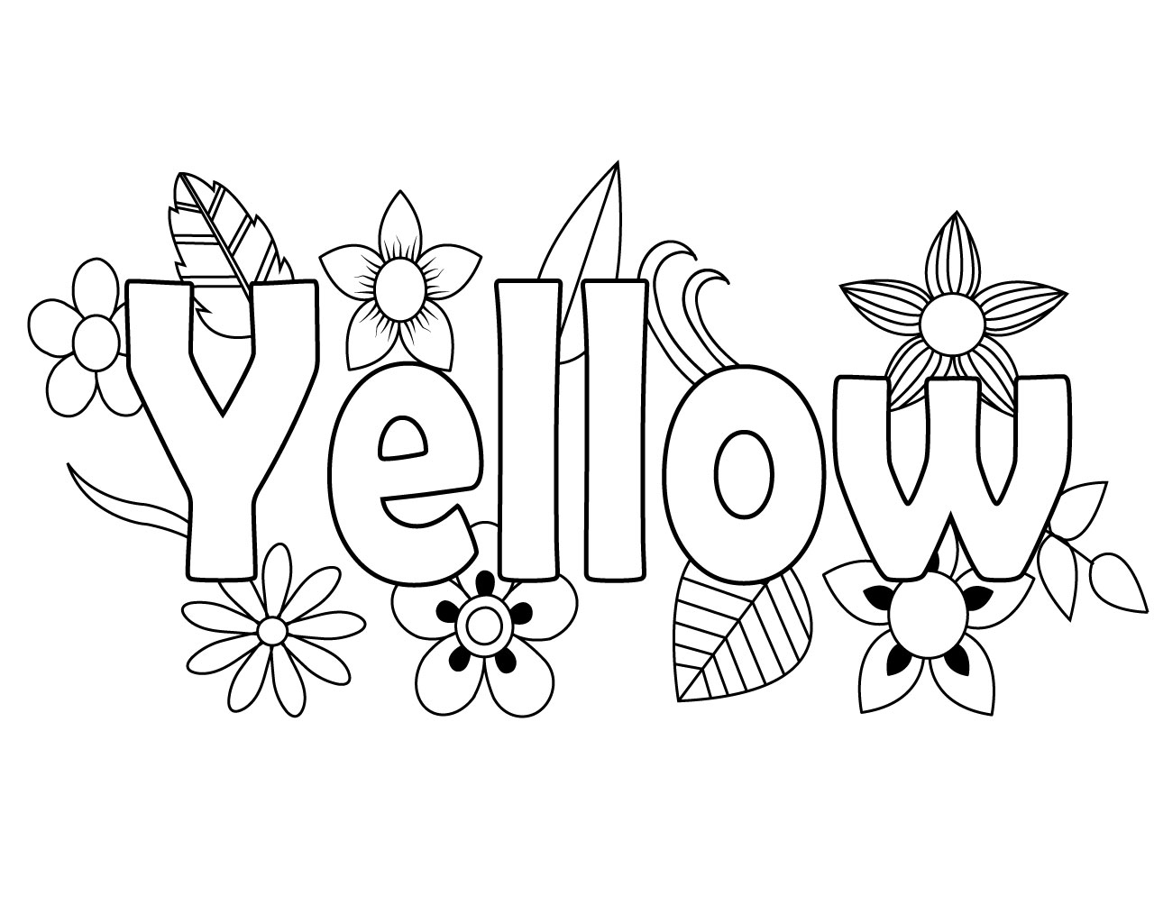 coloring pages yellow yellow song coloring pages for kids preschool colors yellow pages coloring