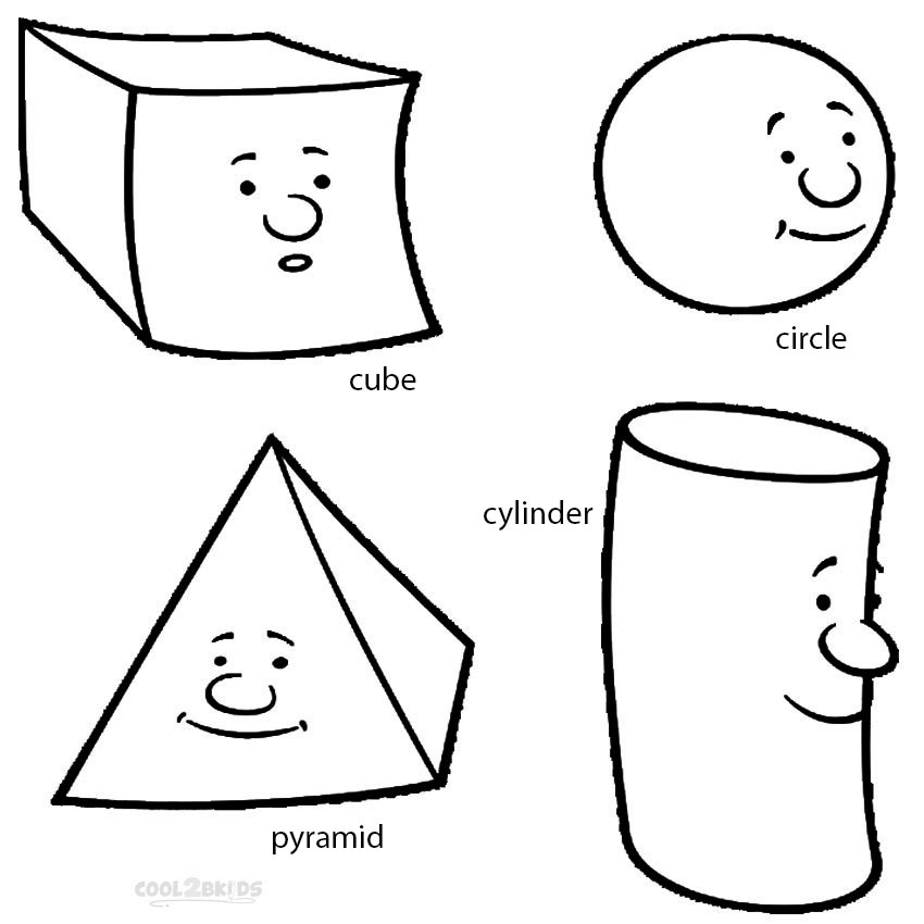 coloring pictures with shapes 12 shapes coloring pages circles squares triangles coloring with shapes pictures