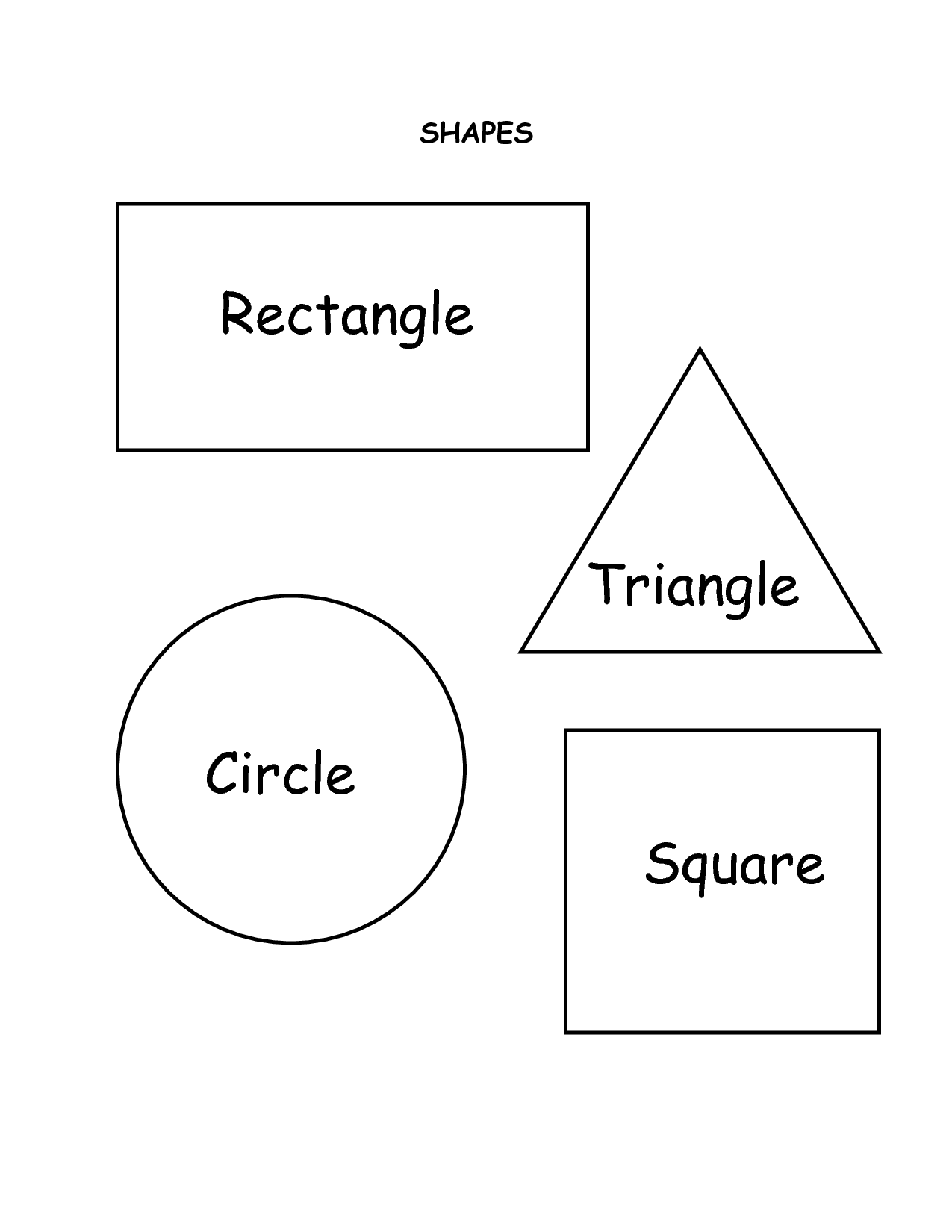 coloring pictures with shapes 12 shapes coloring pages circles squares triangles shapes pictures with coloring