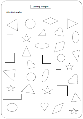 coloring pictures with shapes basic shapes free printable templates coloring pages shapes with coloring pictures