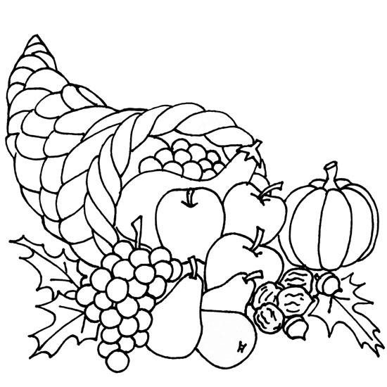 cornucopia coloring page free pictures of cornucopia download free clip art free coloring cornucopia page