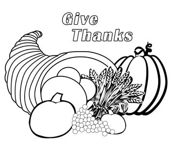 cornucopia coloring page thanksgiving coloring pages page cornucopia coloring