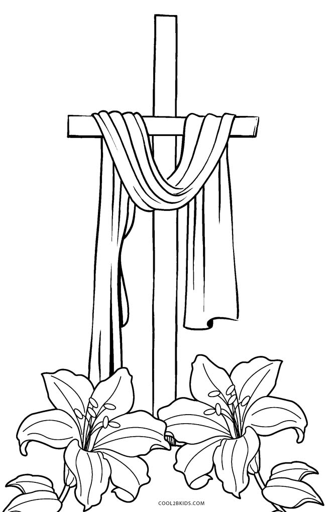 cross coloring pages free printable cross coloring pages for kids cool2bkids pages coloring cross