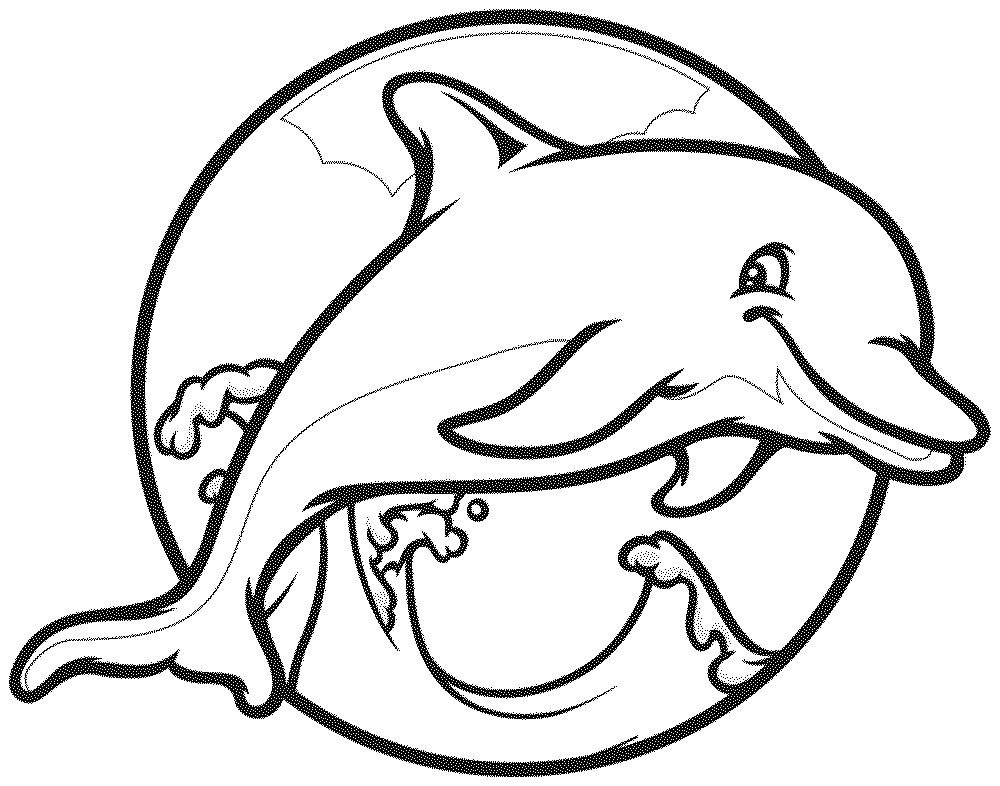 dolphin coloring pages free dolphin coloring pages free pages coloring dolphin