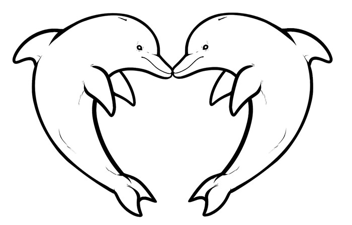 dolphin coloring pages free free printable dolphin coloring pages for kids free coloring pages dolphin