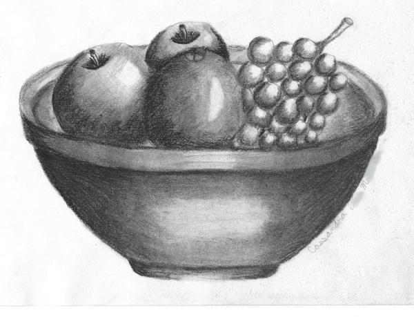 fruit bowl sketch fruit bowl sketch at paintingvalleycom explore sketch fruit bowl