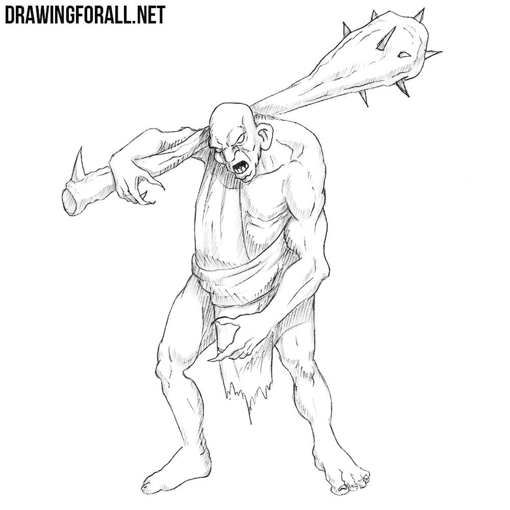 how to draw fantasy creatures step by step how to draw a mythical creature drawingforallnet draw by how creatures to step step fantasy