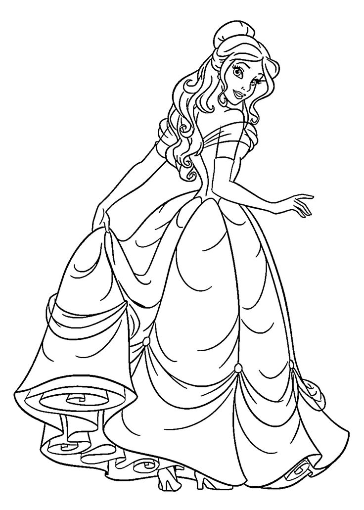images of princess coloring pages princess coloring pages best coloring pages for kids of princess images coloring pages