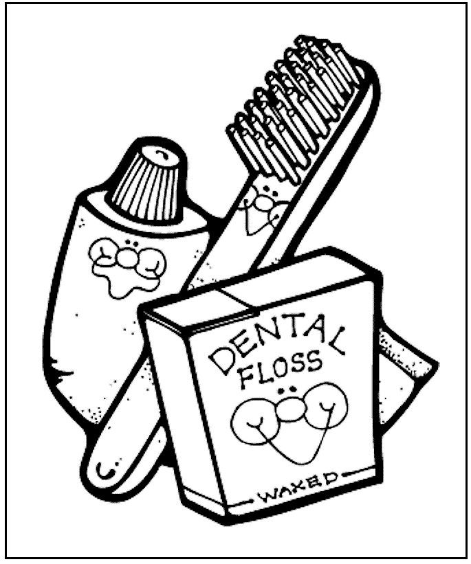 kindergarten respect coloring pages dental health coloring page from makingfriendscom pages respect kindergarten coloring