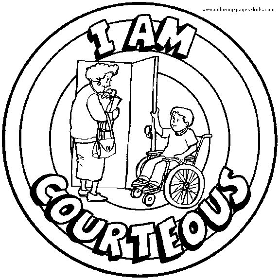 kindergarten respect coloring pages many different color in badges can be used for character pages coloring respect kindergarten