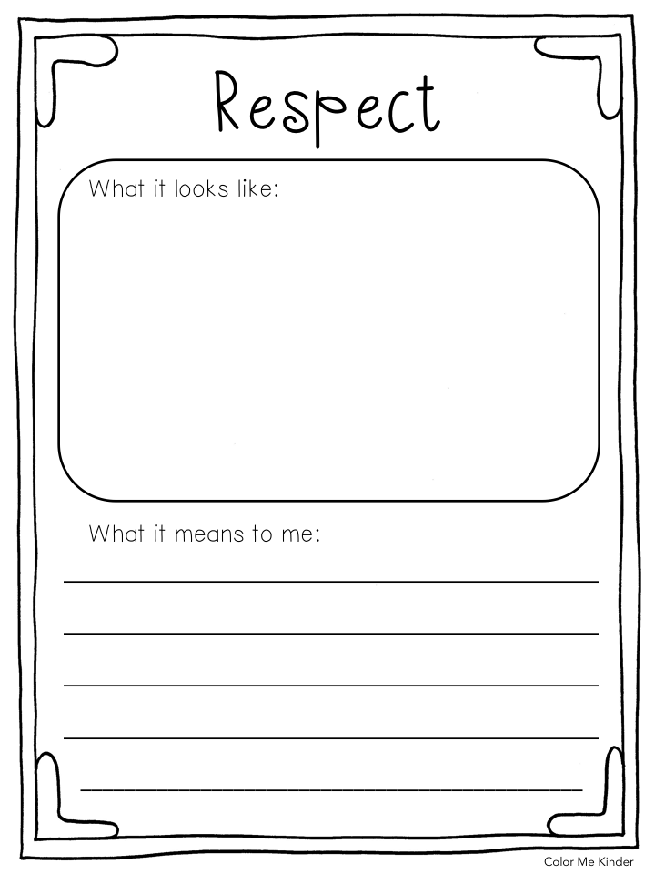 kindergarten respect coloring pages spoonful of sweetness book review a freebie color me respect coloring kindergarten pages