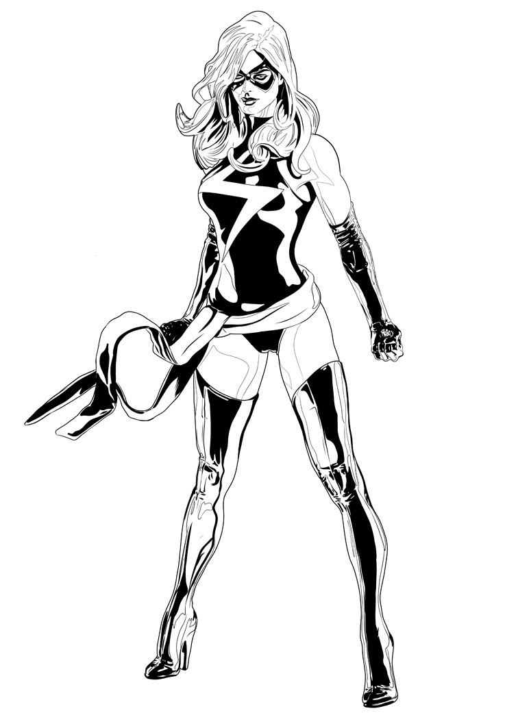 ms marvel coloring pages ms marvel by jorgecopo on deviantart pages coloring marvel ms