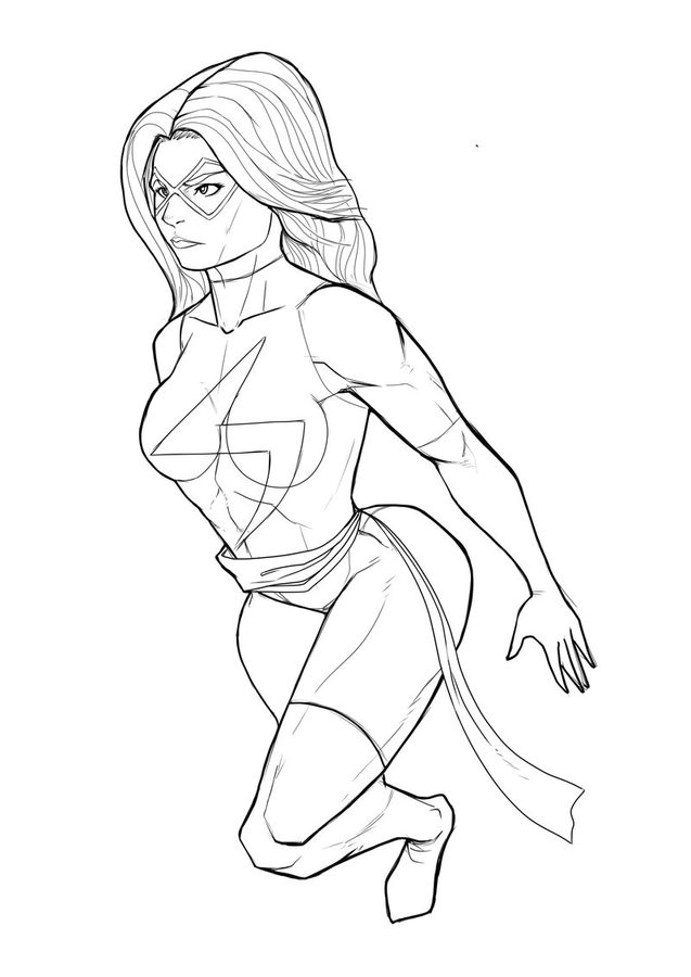 ms marvel coloring pages ms marvel free coloring pages coloring pages ms marvel