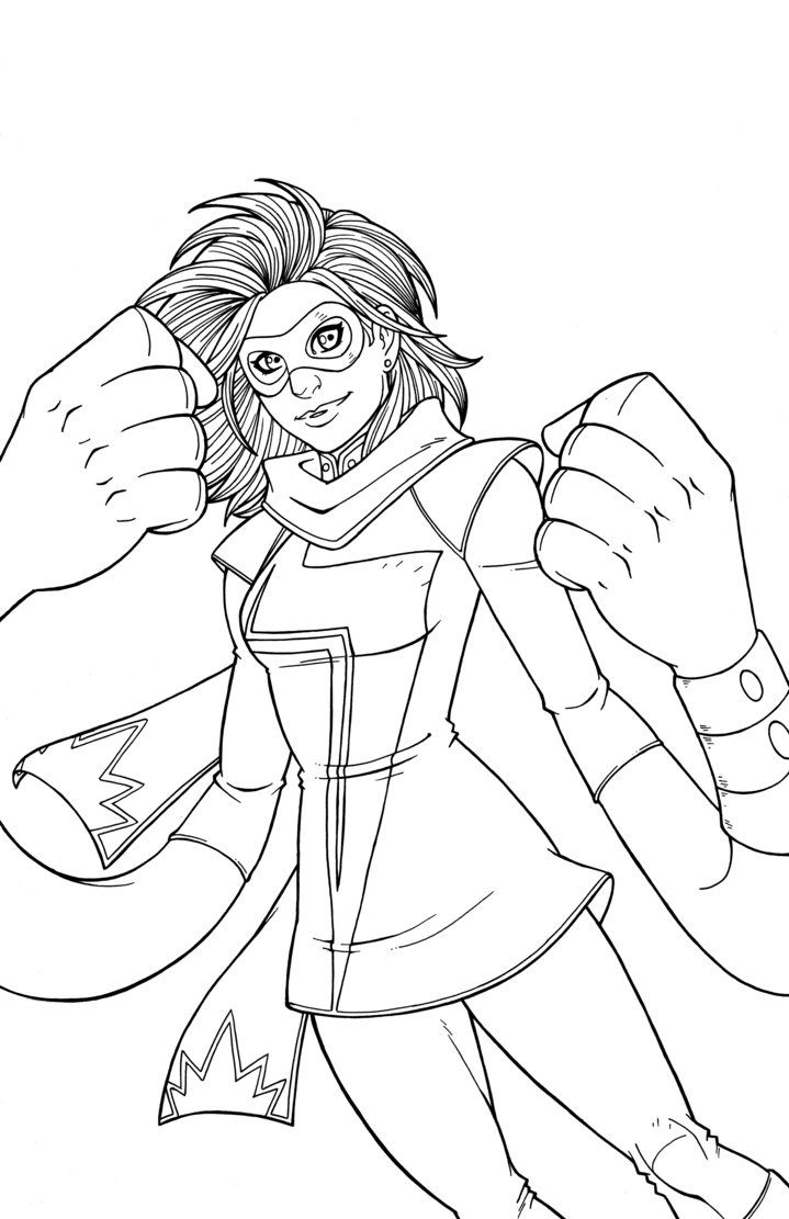 ms marvel coloring pages ms marvel free coloring pages marvel coloring ms pages