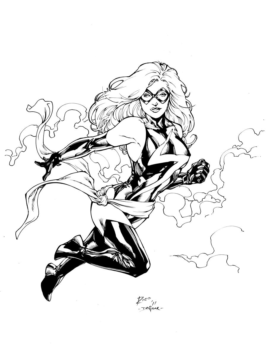 ms marvel coloring pages ms marvel inks by devgear on deviantart pages ms marvel coloring